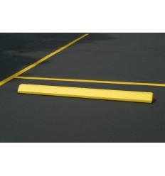 Parking stop, polietylenowy (HDPE), żółty