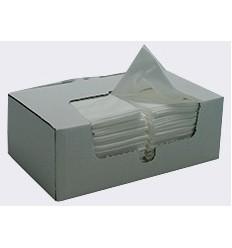 Czyściwo przemysłowe, białe, bardzo chłonne, 100 szt. w kartoniku, arkusz 29cm x 38cm