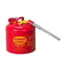 Kanister bezpieczny stalowy, Typ II