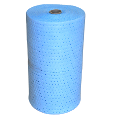 Mata sorbentowa olejowa, niebieska, (rolka), chłonność 281 l.