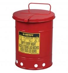 Stalowy pojemnik na odpady niebezpieczne