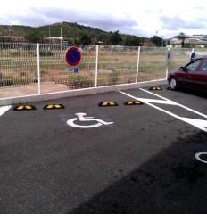 Ogranicznik parkingowy