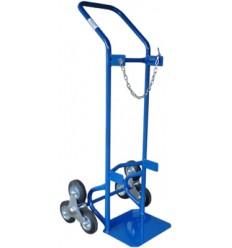Wózek schodowy do przewozu butli gazowej