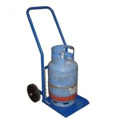 Wózek taczkowy do przewozu butli gazowej