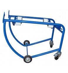 Wózek czterokołowy do beczek
