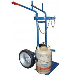 Wózek spawalniczy do butli gazowych (tlen, acetylen, propan)