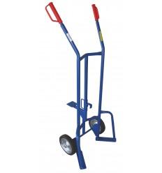 Wózek taczkowy do beczek