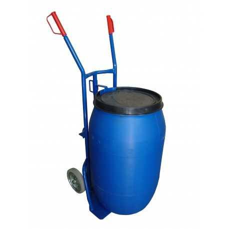 Wózek taczkowy do beczek plastikowych
