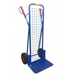 Wózek transportowy dwukołowy z siatką