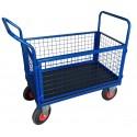Wózek transportowy siatkowy