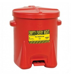 Kosz na odpady niebezpieczne, polietylenowy, (37,9 l.)