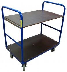 Wózek transportowy dwupółkowy