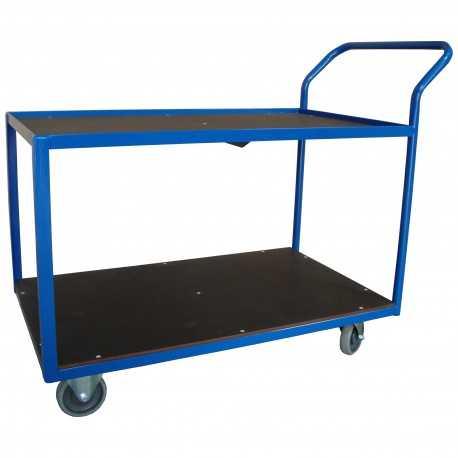 wózek półkowy spawany