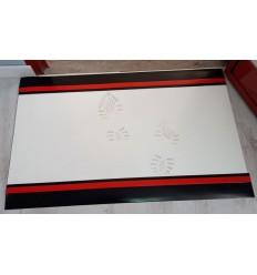 Zmywalna mata dekontaminacyjna 80cm x 120cm biała