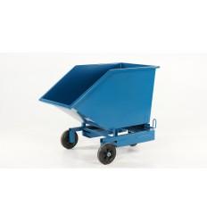 Wózek kontenerowy, pojemnik przechylny do obsługi ręcznej