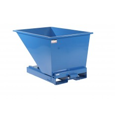 Kontener samowyładowczy do segregacji odpadów