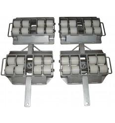 Zestaw transportowy 20 T do przewozu ciężkich maszyn na nierównych powierzchniach