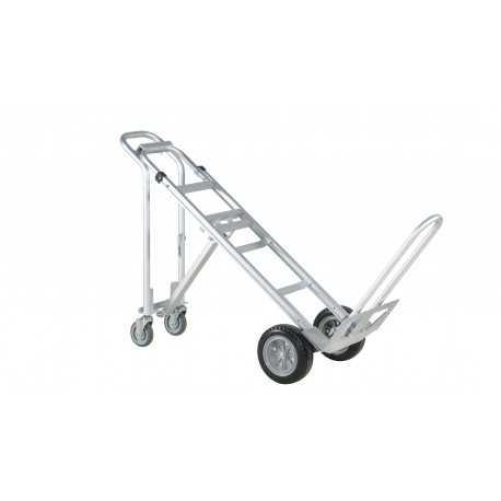 Wózek transportowy aluminiowy składany, 3-pozycyjny