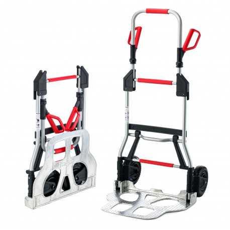 Składany wózek transportowy RuXXac-cart Jumbo, do ciężkich pakunków
