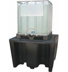 Wanna wychwytowa, polietylenowa Jonesco na 1 kontener IBC/KTC, pojemność 1120 l