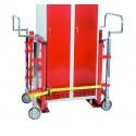 Hydrauliczny wózek meblowy/transportowy 1800 kg