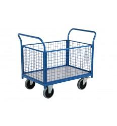 Wózek platformowy 1040x610, burty zdejmowane
