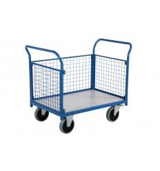 Wózek platformowy 1240x810, burty zdejmowane