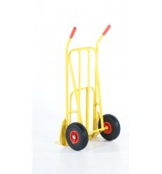 Wózek taczkowy ze składaną platformą