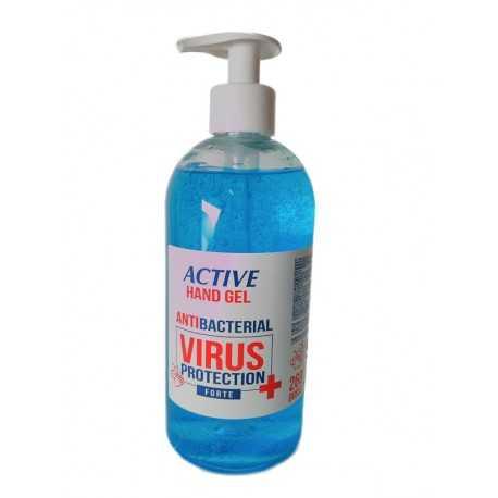 Antywirusowy płyn do dezynfekcji i odkażania rąk ACTIVE HAND GEL VIRUS