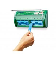 Automat - dozownik z plastrami opatrunkowymi wykrywalnymi Salvequick Blue Detectable Cederroth 51030130
