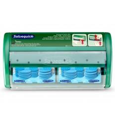 Automat - dozownik z plastrami opatrunkowymi wykrywalnymi Salvequick Blue Detectable Cederroth