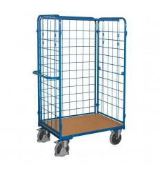 Wózek do paczek osiatkowany 1000x600