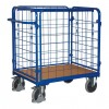 Wózek osiatkowany do paczek 850x500