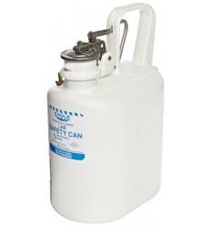 Kanister bezpieczny laboratoryjny na płyny łatwopalne, (3,8 l.), polietylenowy