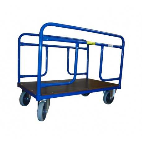 Dwuporęczowy wózek platformowy, 600 kg
