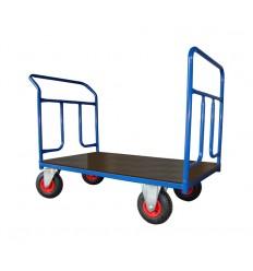 Dwuburtowy wózek magazynowy (1000x700), 250 kg