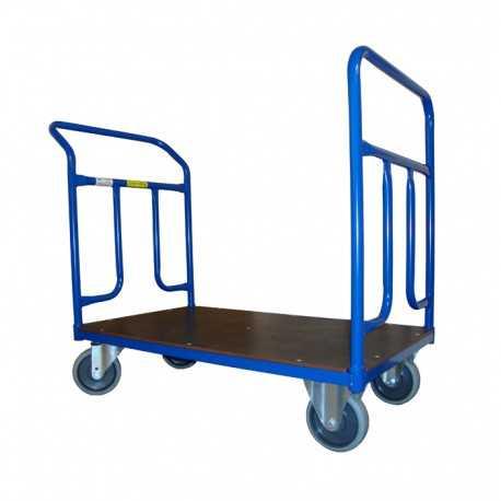 Dwuporęczowy wózek magazynowy, 400 kg