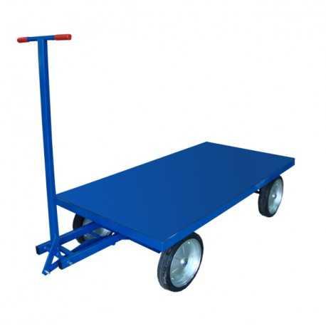 Platforma transportowa z dyszlem skrętnym, 1500 kg