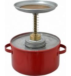 Pojemnik tłokowy stalowy, (1 l.) P-701