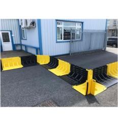 Zapora przeciwpowodziowa - Flood Fence -Narożnik - system przeciwpowodziowy