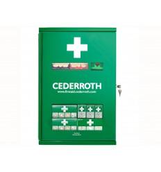 Duża apteczka ścienna metalowa Cederroth First Aid Cabinet