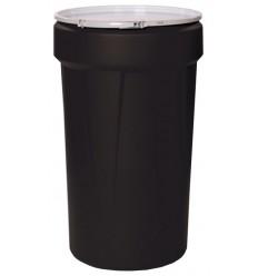 Pojemnik polietylenowy, pojemność 213,5 l. z pokrywą