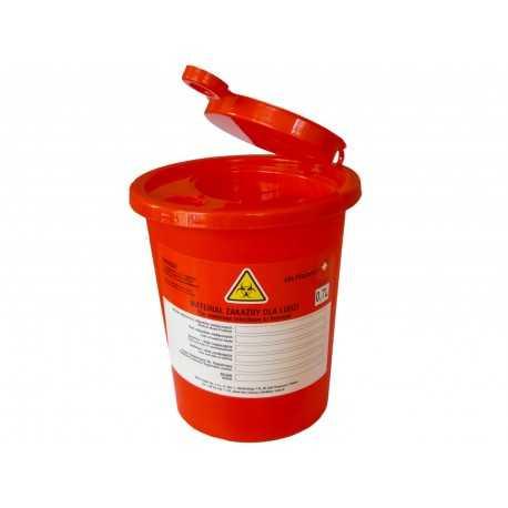 Pojemnik na odpady medyczne 0,7 l - 70 szt.