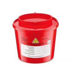 Pojemnik na odpady medyczne 1 l - 50 szt.