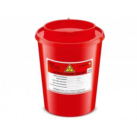 Pojemnik na odpady medyczne 1,5 l - 40 szt.