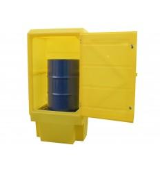 Polietylenowa szafa zabezpieczająca na chemikalia lub beczkę (225l)