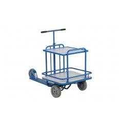 Hulajnoga przemysłowa - wózek dwupółkowy