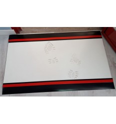 Zmywalna mata dekontaminacyjna 40cm x 120cm biała