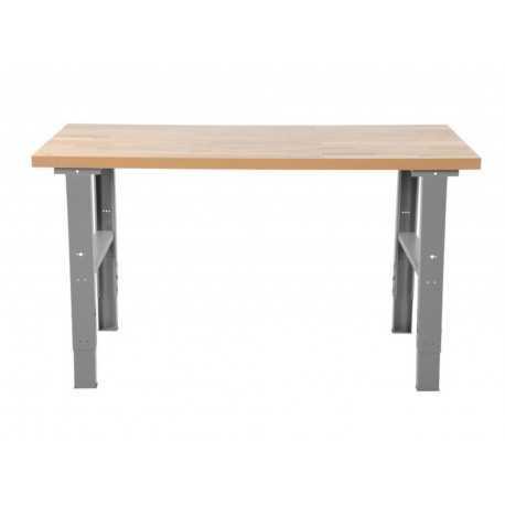 Stół warsztatowy z blatem dębowym