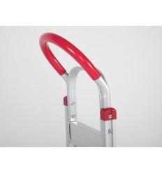 Wózek dwukołowy aluminiowy